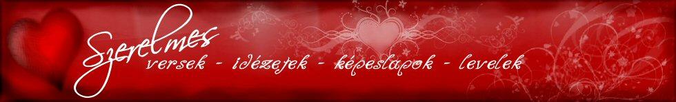 SzerelmesLevél.hu fejléc