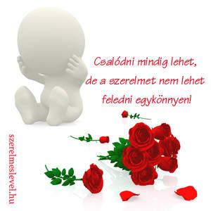 Csalódni mindig lehet, de a szerelmet nem lehet feledni egykönnyen!